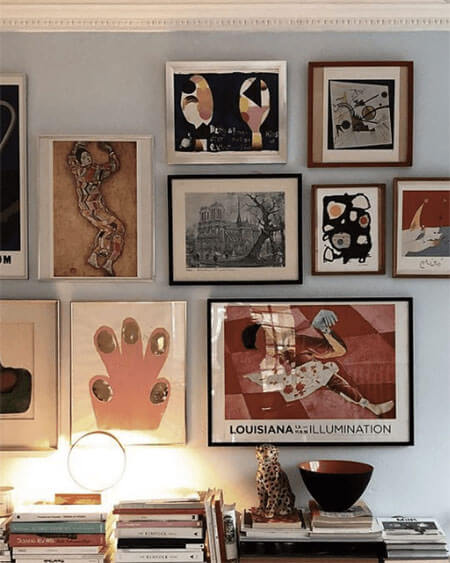 Gallery Walls Are Seriously the Simplest Way To Kickstart Your Interior Decorating Plans