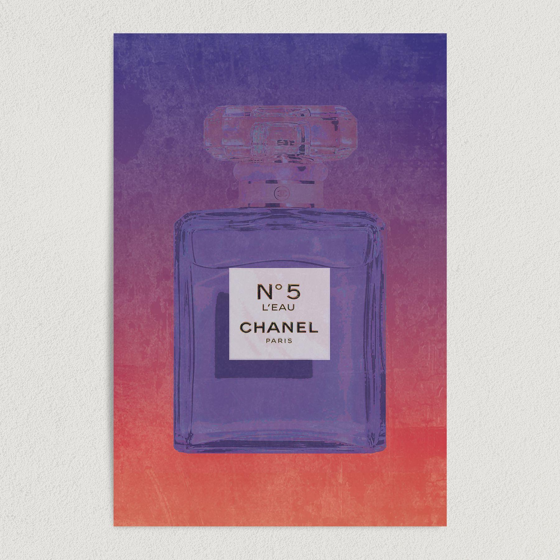 Chanel No5 Fragrance Art Print Poster 12″ x 18″ Wall Art BF1000