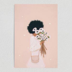"Floral Days Art Print Poster 12"" x 18"" Art Print WE1140"