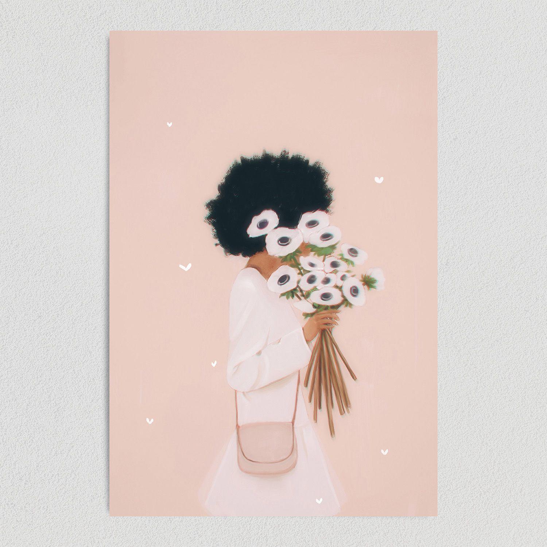 Floral Days Art Print Poster 12″ x 18″ Art Print WE1140