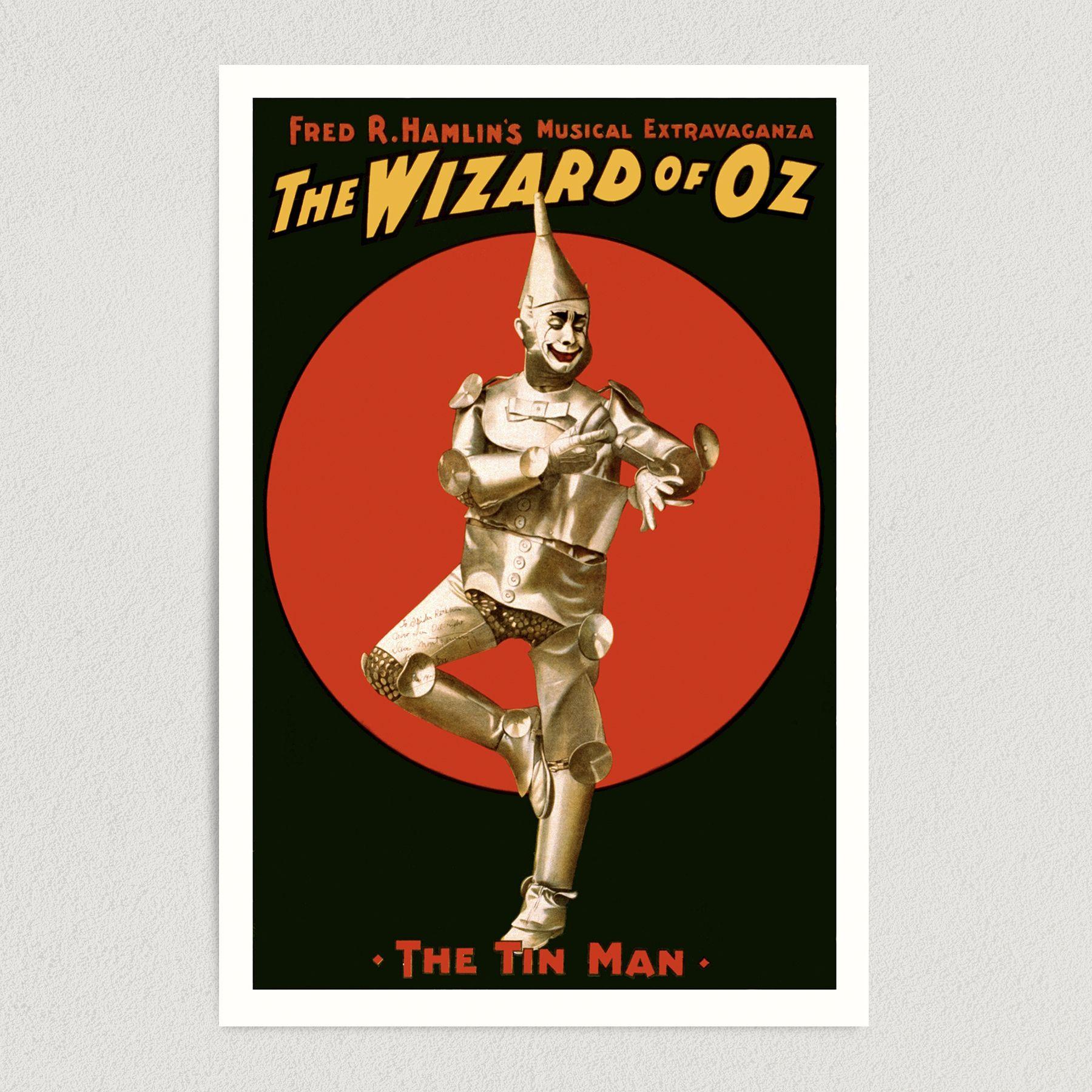 Wizard of Oz Movie Art Print Poster 12″ x 18″ Wall Art HM2305