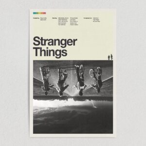 "Stranger Things Netflix Original Retro 1980 Art Print Poster 12"" x 18"" M1020"