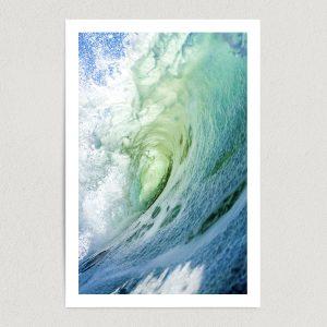 "Ocean Wave Rip Curl Art Print Poster 12"" x 18"" Wall Art MN2306"