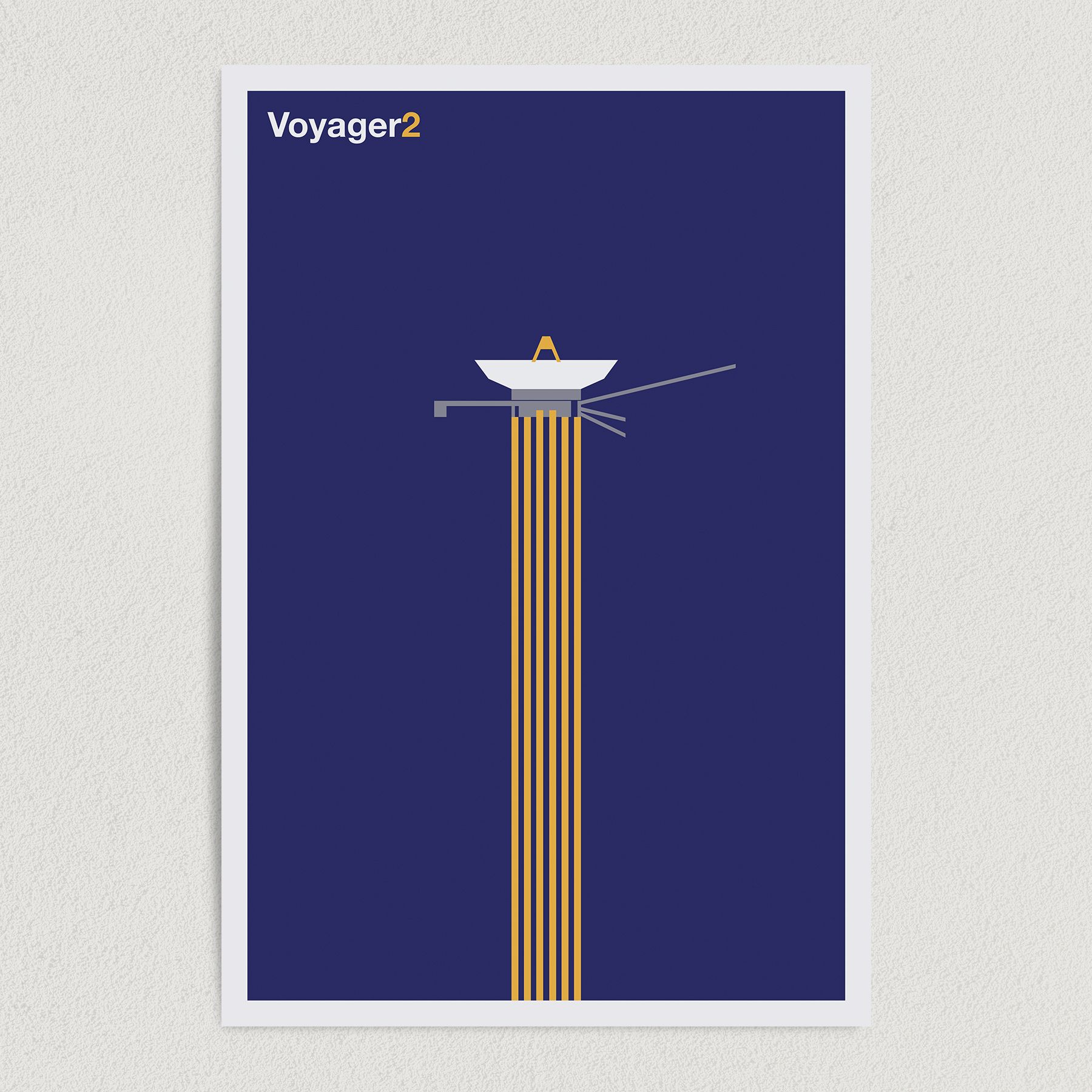 Voyager2 NASA Space Mission Art Print Poster 12″ x 18″ Wall Art SS2136