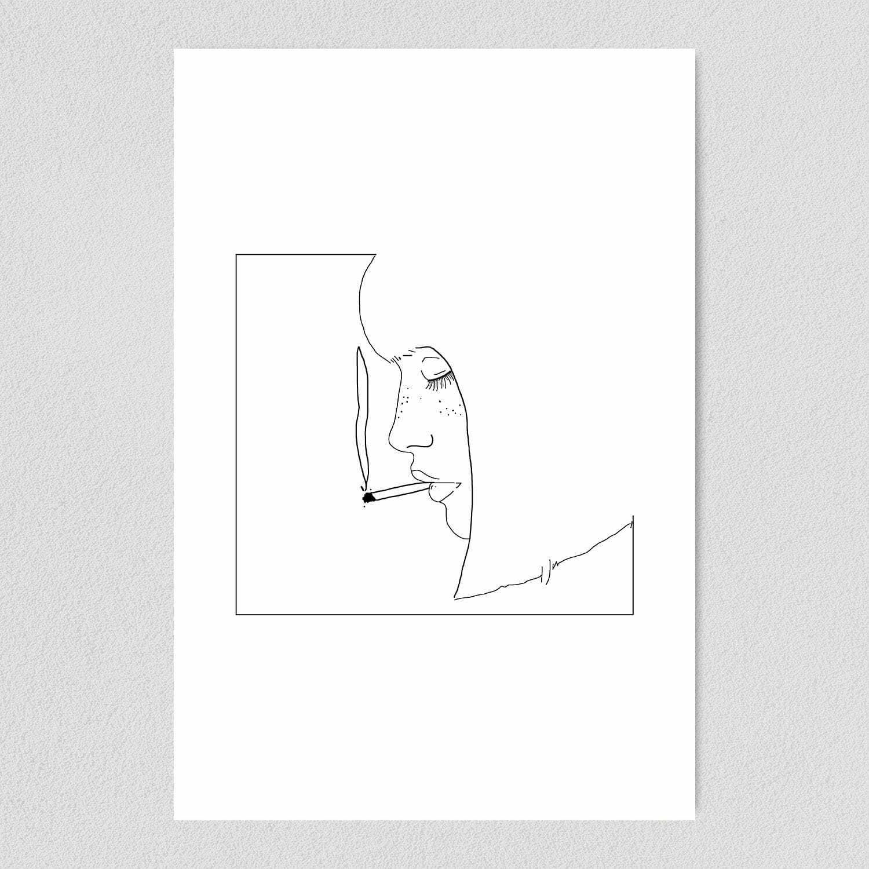 Girl Needs Weed Art Print Poster CA1030