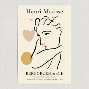 Henri Matisse Berggruen and Cie Art Print Poster Featured Image