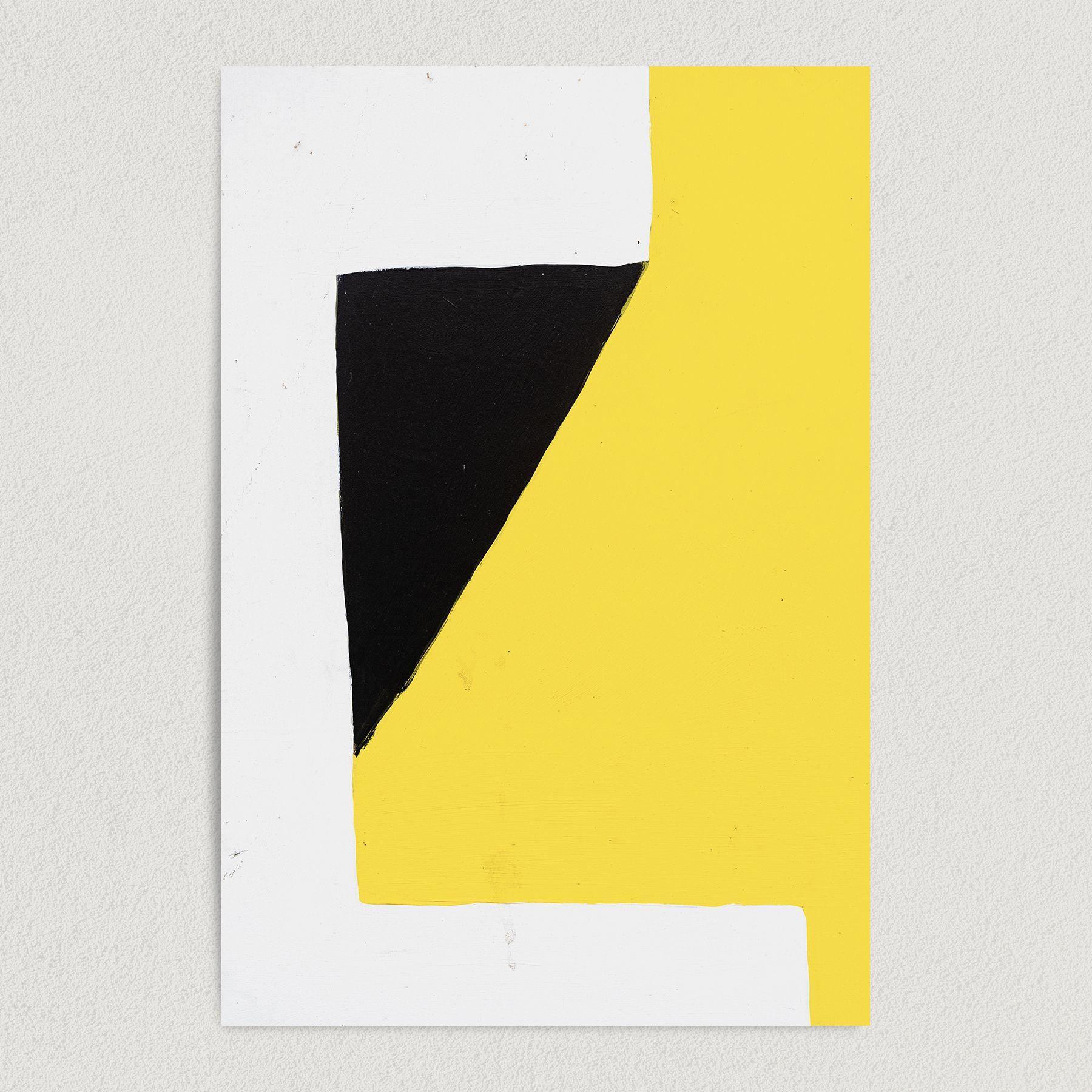 Abstract 3D Shape Art Print Poster A1007
