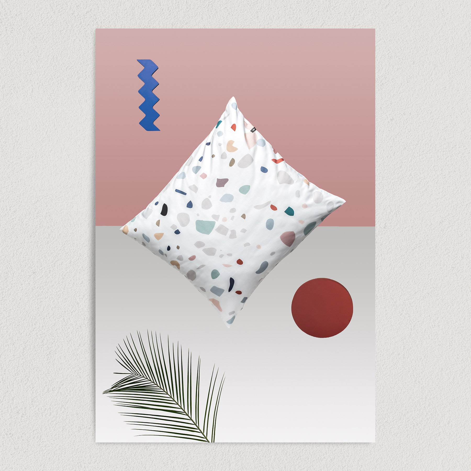 Abstract Pillow Art Print Poster 12″ x 18″ Wall Art A1009
