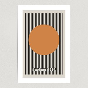 bauhaus 1919 art print poster featured Image