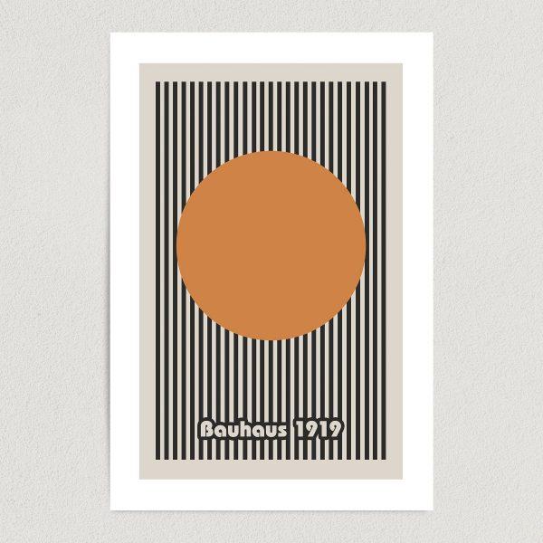 bauhaus 1919 art print poster featured Image