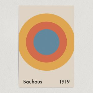 bauhaus architect 1919 art print poster featured Image