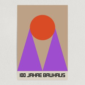 bauhaus retro art print poster featured Image