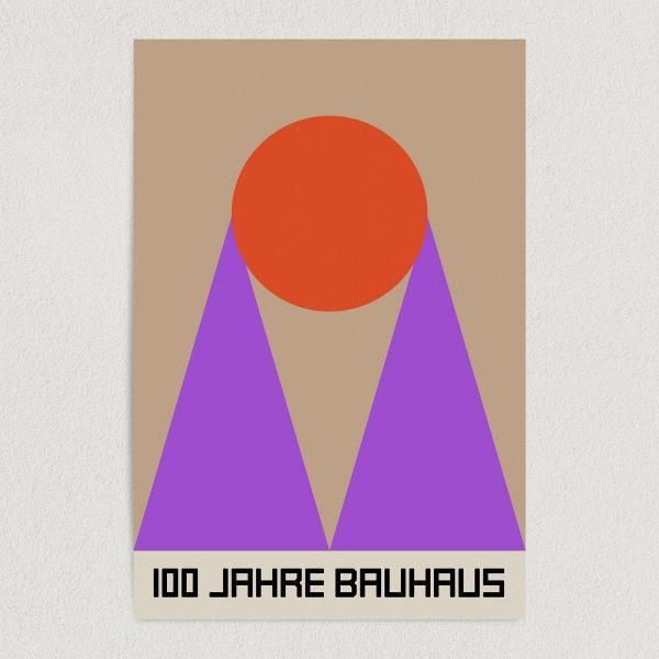 bauhaus retro art print poster featured Image