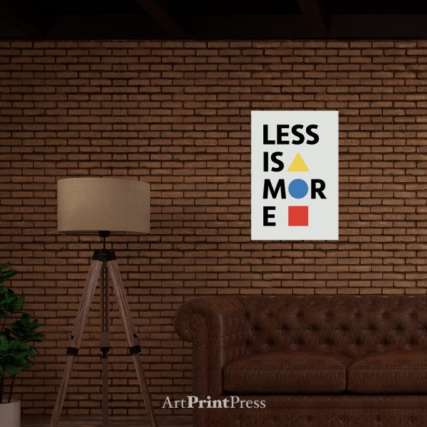 Bauhaus Less Is More Real World Template