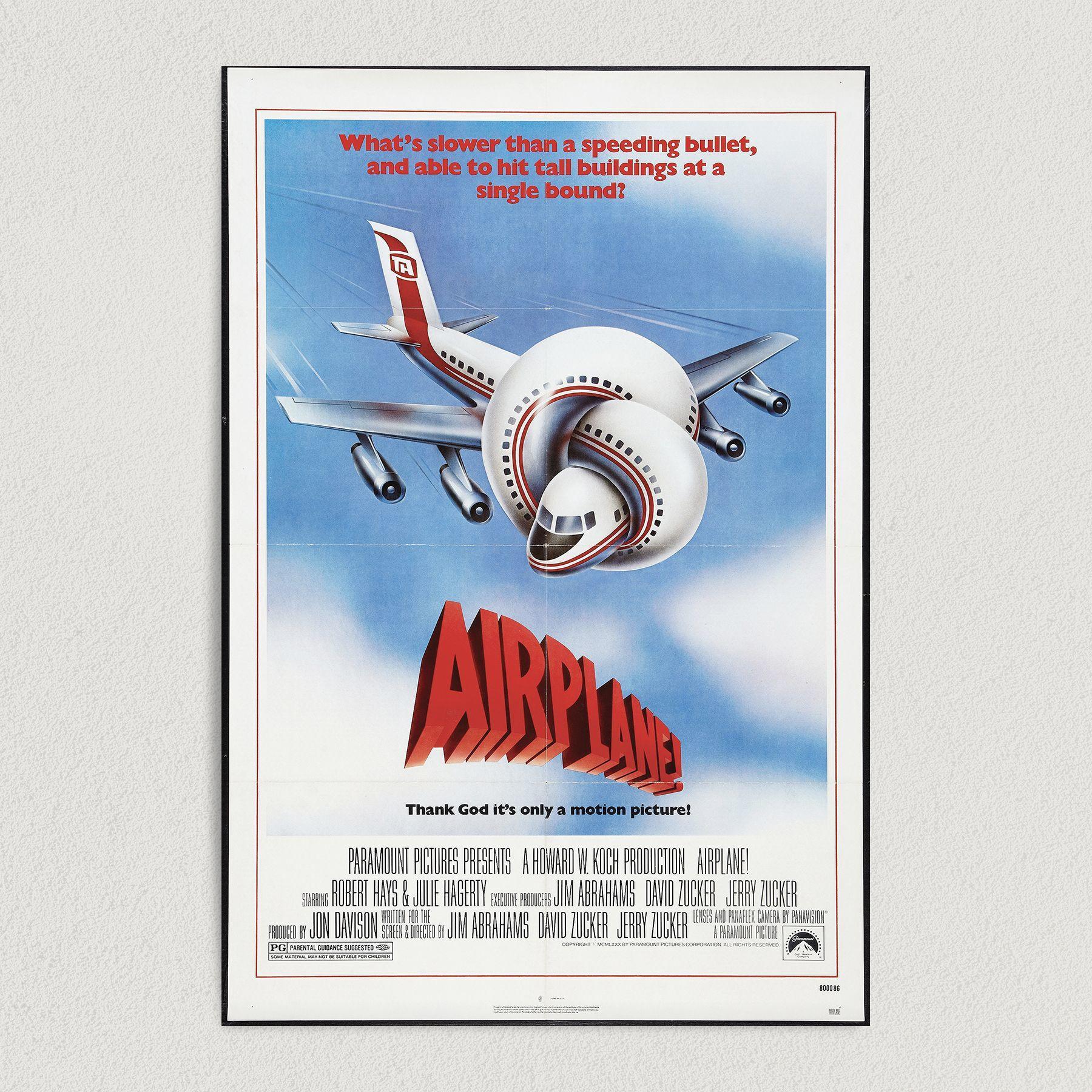 Airplane the Movie Vintage Art Print Poster 12″ x 18″ Wall Art M1002