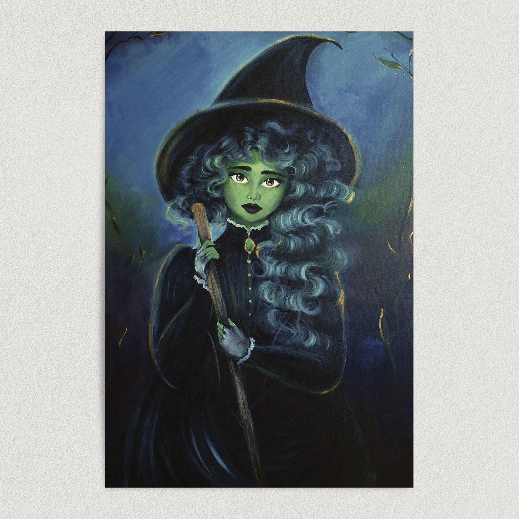 Wicked Art Print Poster 12″ x 18″ Wall Art CI1001