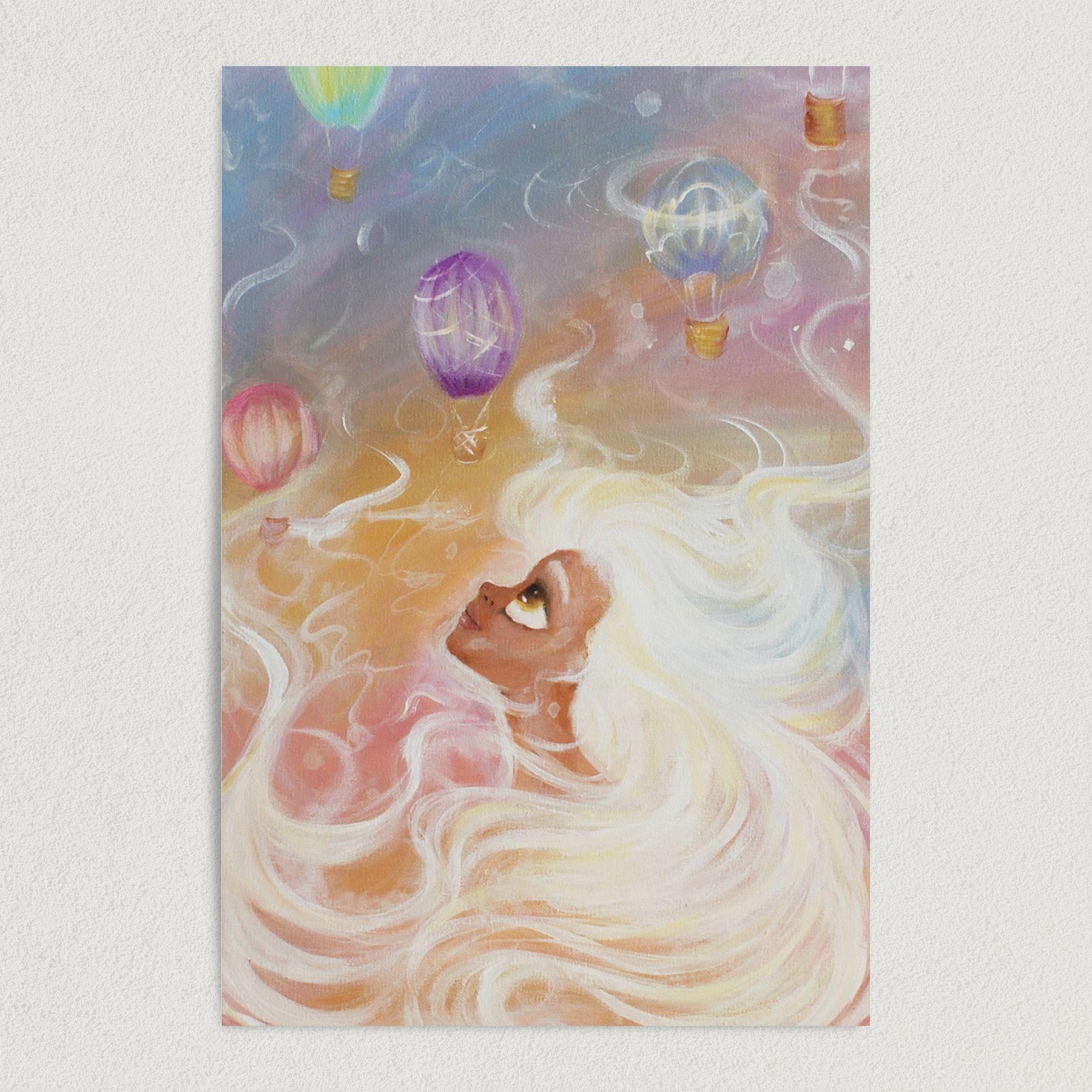 Atmosphere Art Print Poster 12″ x 18″ Wall Art CI1002