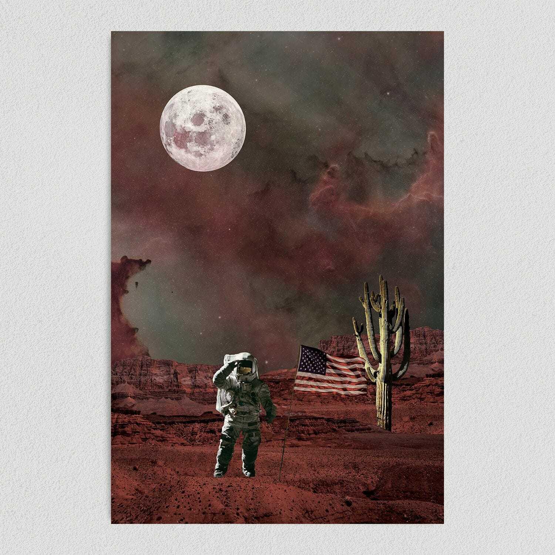 Exploring New Planets Art Print Poster 12″ x 18″ Wall Art SP1103