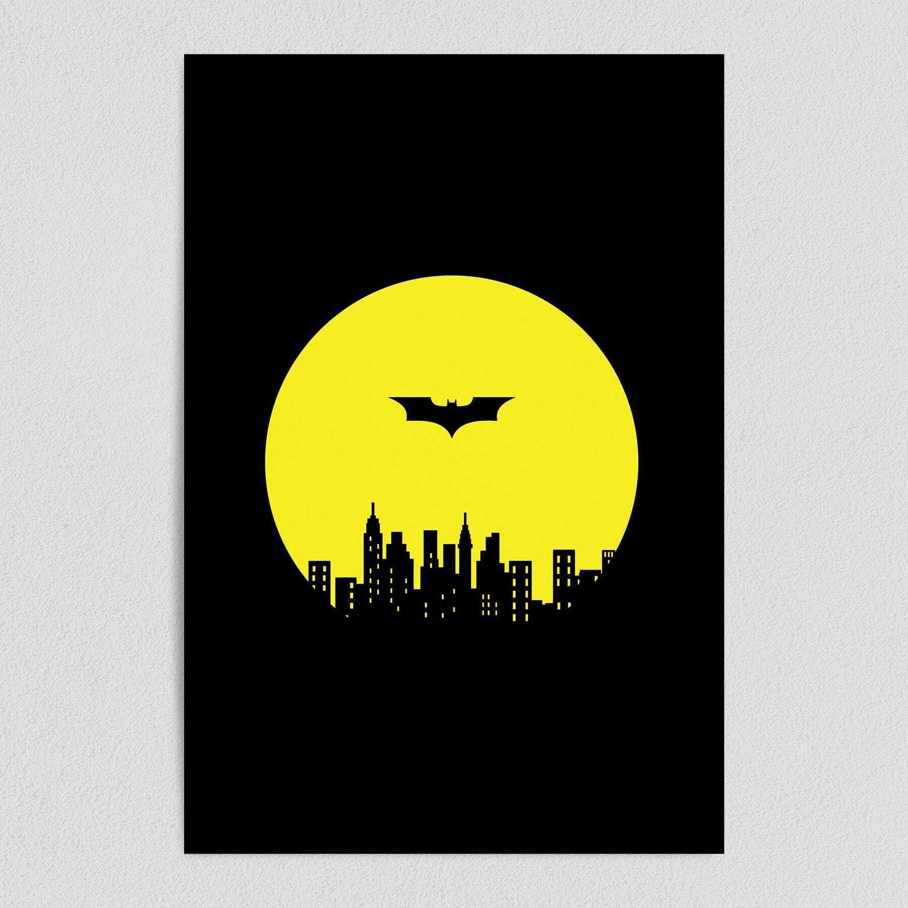 Gotham Needs A Hero DC Comic Art Print Poster 12″ x 18″ Wall Art PC1050