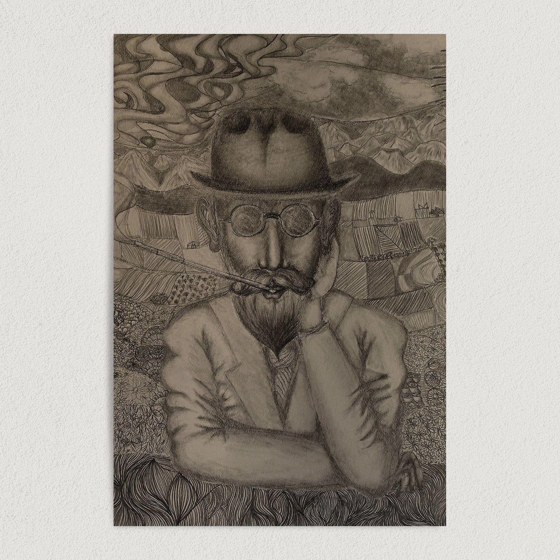 In Lenerd Herbert's Eyes Art Print Poster 12″ x 18″ Wall ArtMA1000
