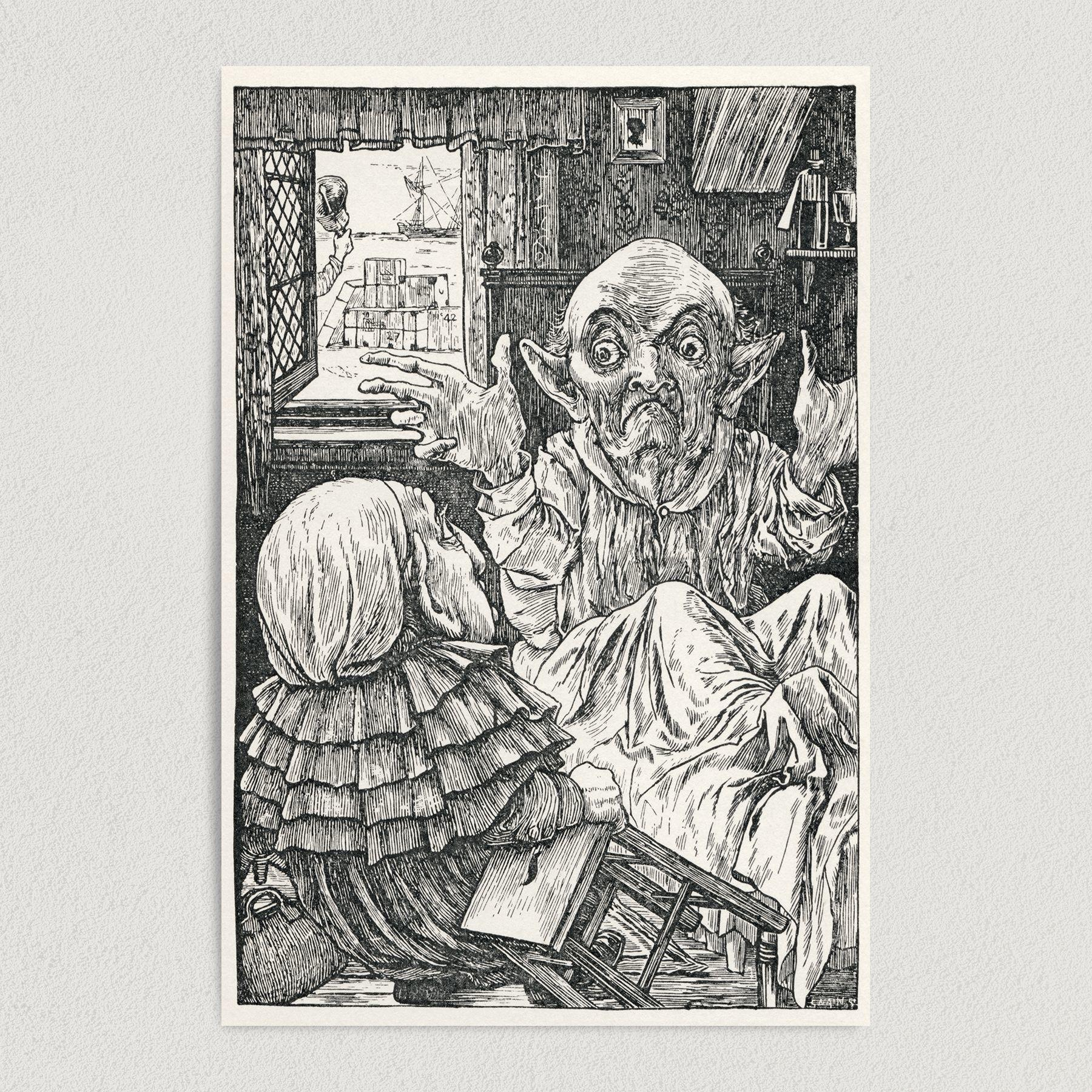 Henry Holiday Snark Art Print Poster 12″ x 18″ Wall Art H1003