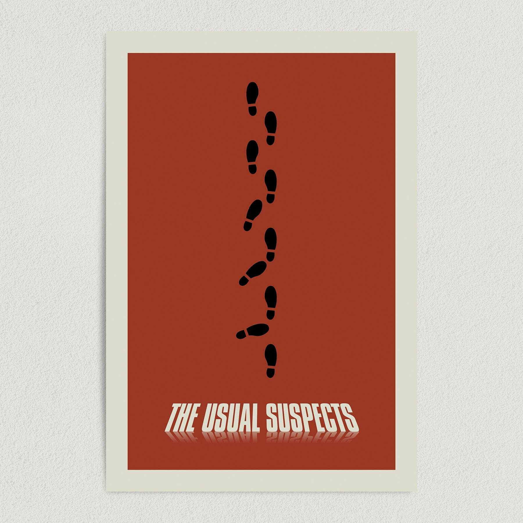 The Usual Suspects Movie Art Print Poster 12″ x 18″ Wall Art M1025