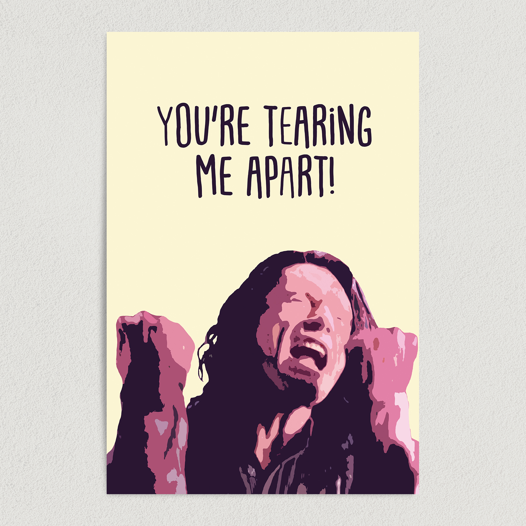 The Room Movie Poster You're Tearing Me Apart Art Print Poster 12″ x 18″ Wall Art M1000
