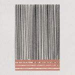 Minimalist Abstract Lines Art Print Poster 12″ x 18″ Wall Art AL1111